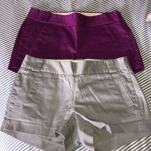 J.crew factory shorts size 2
